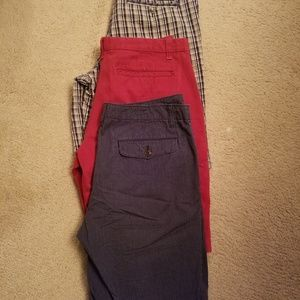 3 Eddie Bauer mens shorts
